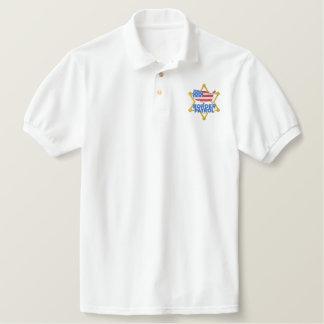 Border Patrol Embroidered Polo Shirt