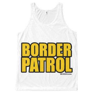 Border Patrol - Politiclothes Humor -.png All-Over Print Tank Top