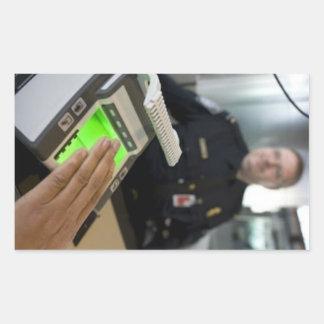 Border Patrol Rectangular Sticker