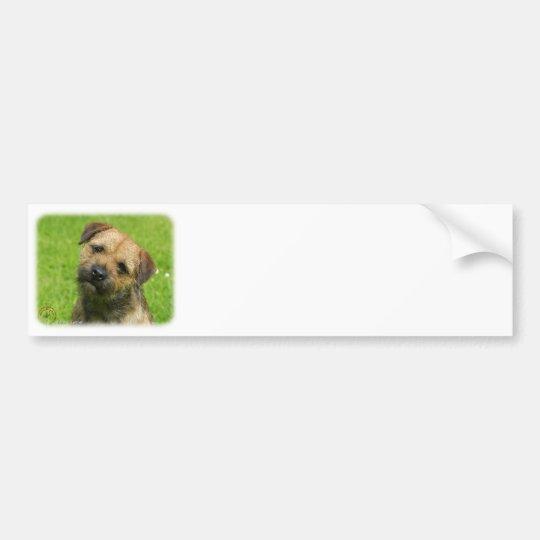 Border Terrier 9W009D-127 Bumper Sticker