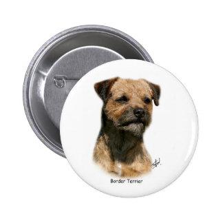 Border Terrier 9Y325D-046-2 Pinback Button
