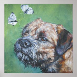 border terrier art print