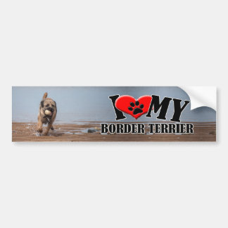 Border Terrier Bumper Sticker