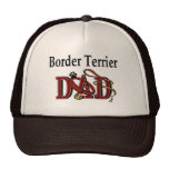 Border Terrier Dad Gifts Trucker Hat