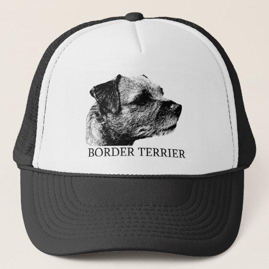 Border Terrier Drawing Trucker Hat