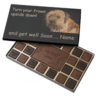 Border Terrier Get Well 45 Piece Assortment Assorted Chocolates