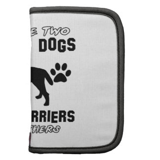 BORDER TERRIER gift items Folio Planners