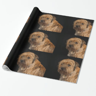 """Border Terrier Glossy Wrapping Paper, 30"""" x 6'"""
