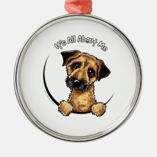 Border Terrier IAAM Metal Ornament
