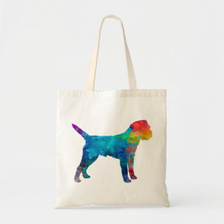 Border Terrier in watercolor Tote Bag