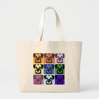 Border Terrier  Large Tote Bag