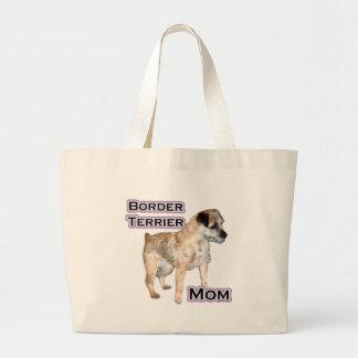 Border Terrier Mom 4 Canvas Bag