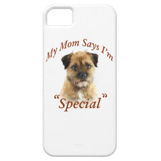 Border Terrier Mom Thinks I Am Special iPhone SE/5/5s Case