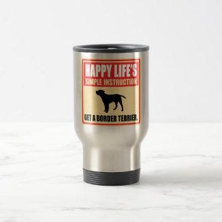 Border Terrier 15 Oz Stainless Steel Travel Mug