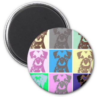 Border Terrier, part II Magnet