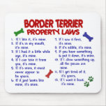BORDER TERRIER Property Laws 2 Mouse Mats