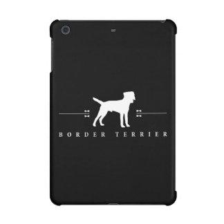 Border Terrier silhouette -2- iPad Mini Case