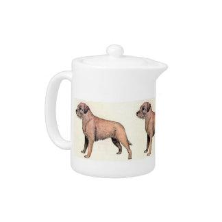 Border Terrier Teapot