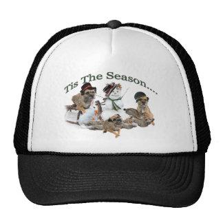 Border Terrier Tis The Season Trucker Hat