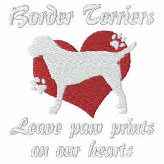 Border Terriers Leave Paw Prints