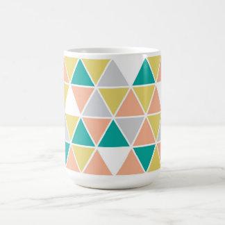 Bordered Triangle Mug