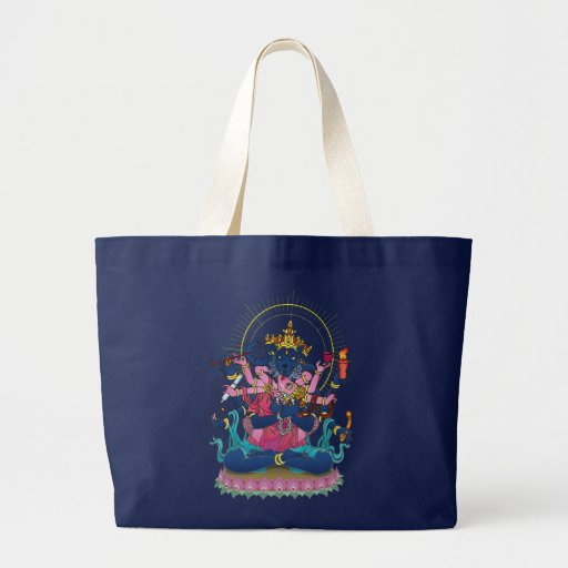 Borderless ボーダレス jumbo tote bag
