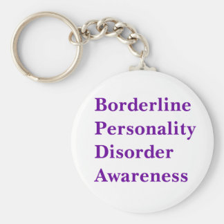 Borderline Personality Disorder Aw... - Customized Keychain