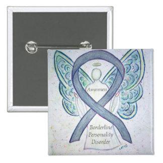 Borderline Personality Disorder (BPD) Ribbon Pins