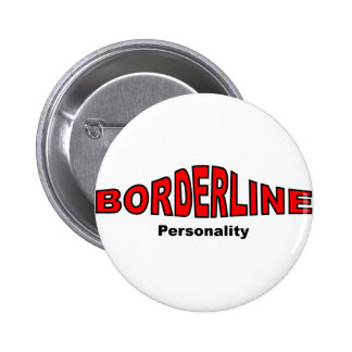 Borderline Personality Disorder Buttons