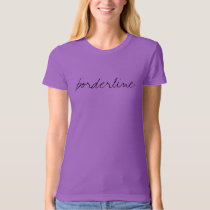 Borderline SemiColon Tee
