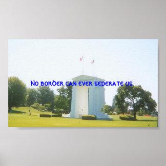 Borders Poster