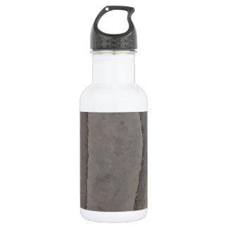 Bordes - abstracción tranquila botella de agua de acero inoxidable