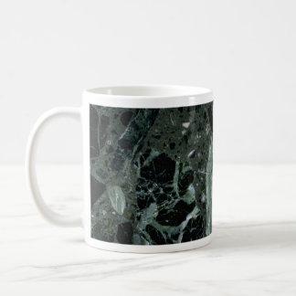 Bordes dentados completamente sólidos taza de café
