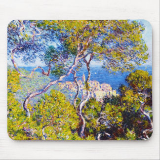 Bordighera, 1884 Claude Monet cool, old, master, Mouse Pad