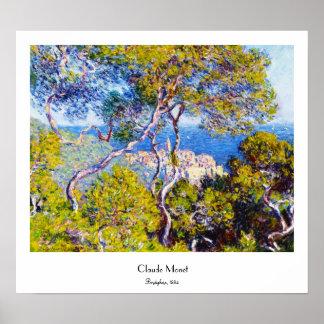 Bordighera, 1884 Claude Monet cool, old, master, Poster
