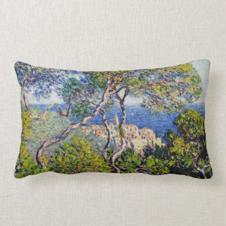 Bordighera, by Claude Monet Lumbar Pillow