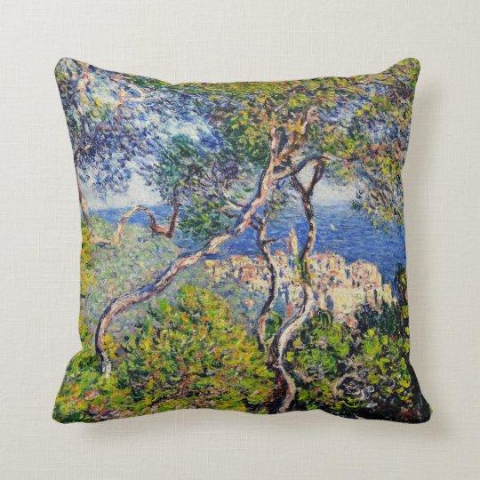 Bordighera, by Claude Monet Throw Pillow