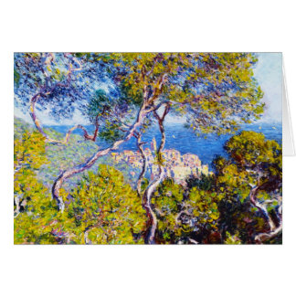 Bordighera, Claude Monet 1884 fresco, viejo, amo, Tarjeta Pequeña