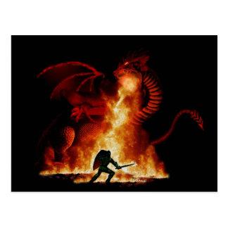 Bordox Dragon Slayer Postcard
