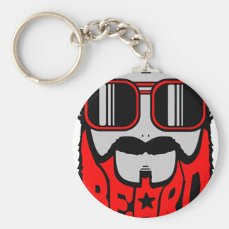 bore red keychain
