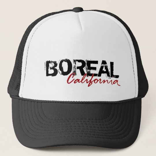 Boreal California black city hat
