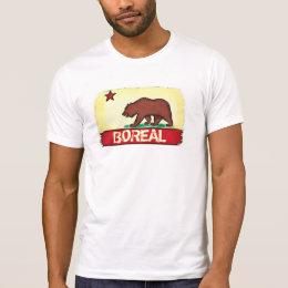 Boreal California guys state bear tee