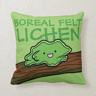 Boreal Felt Lichen Pillow