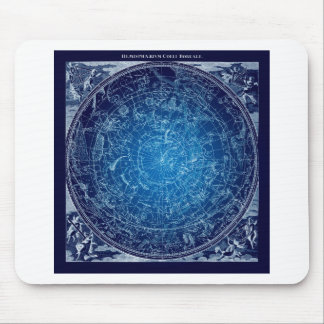 Boreal Hemysphere Sky constellations Mouse Pad