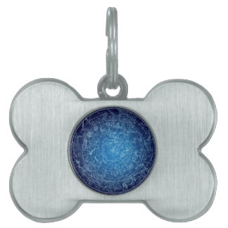 Boreal Hemysphere Sky constellations Pet ID Tag