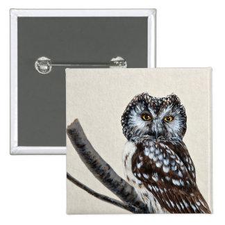 Boreal owl pins