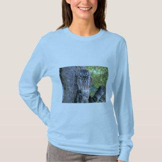Boreal Owl Closeup Photo T-Shirt