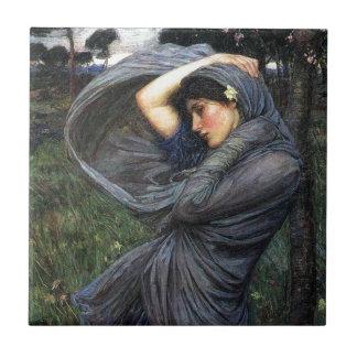 Boreas del Pre-Raphaelite del Waterhouse de Juan Teja Cerámica
