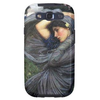 Boreas del Pre-Raphaelite del Waterhouse de Juan Samsung Galaxy S3 Fundas