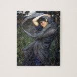 Boreas del Pre-Raphaelite del Waterhouse de Juan Rompecabeza